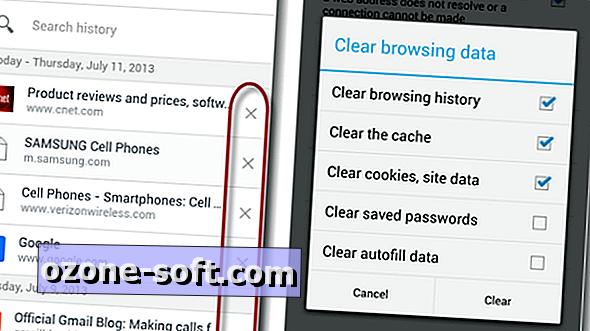 Como limpar o histórico de navegação no novo Chrome para Android