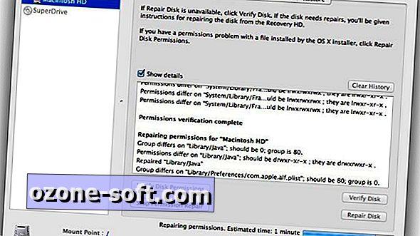 Reparieren Sie die Datenträgerberechtigungen, um Ihren Mac zu beschleunigen