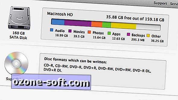 Разберете какво е мястото на вашия твърд диск с Mac