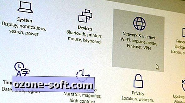 Izvēlne Windows 10 iestatījumi: cilne Tīkls un internets
