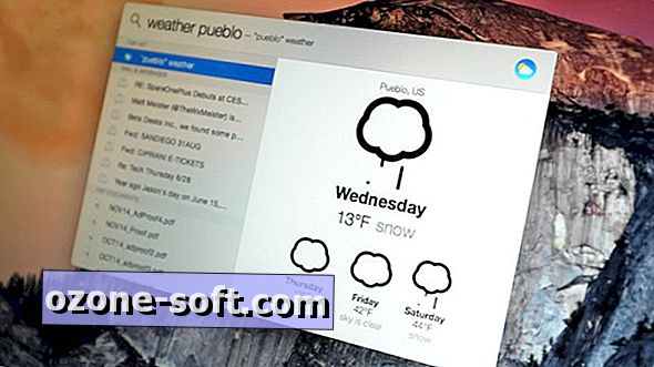 Svetilka postavi funkcijo Spotlight na OS X Yosemite na steroidih
