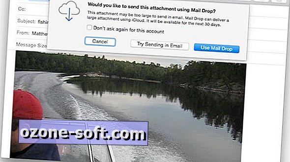 วิธีเปลี่ยนขีด จำกัด ขนาดไฟล์ขั้นต่ำสำหรับ OS X Mail Drop