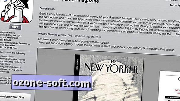 Kuidas lugeda New Yorkerit iPadis