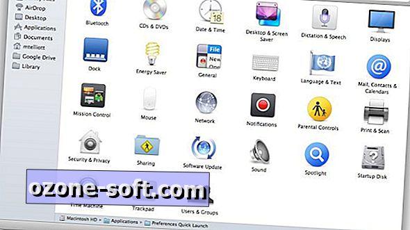 Legg til bestemte valgpaneler til Mac-dokken