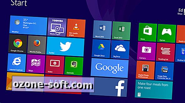 Slik sikkerhetskopierer du og gjenoppretter Windows 8 Start skjermoppsett