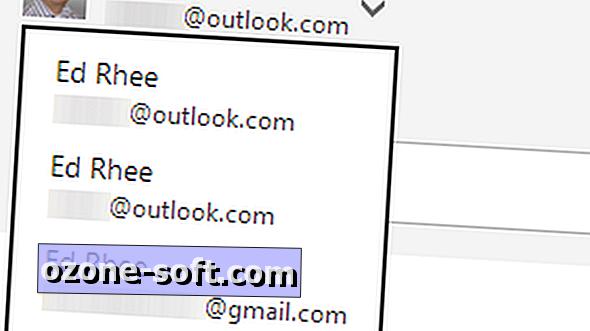 Kuidas saata e-kirju teistest aadressidest Outlook.com-is