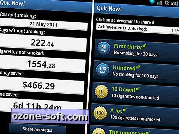programok az androidnak leszokni a dohányzásról