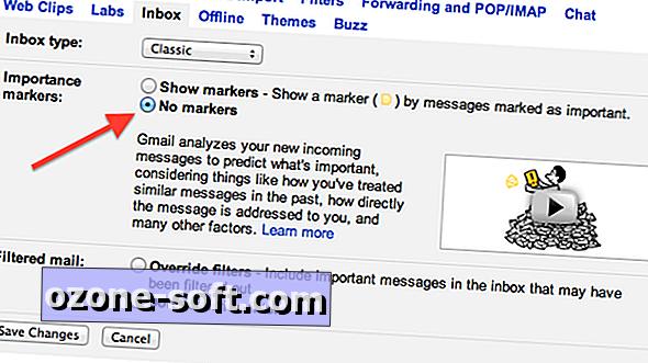 Kuidas eemaldada Gmaili tähtsusmärke