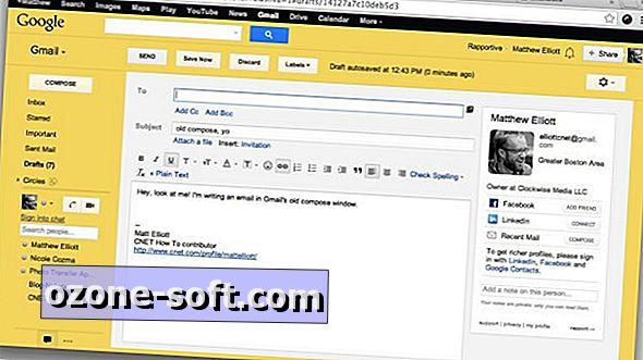 Vratite stari Gmailov prozor za sastavljanje s proširenjem za Chrome