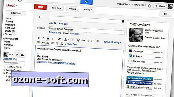 Dve rozšírenia obchodu Chrome Chrome prinášajú staré okno pre správu služby Gmail