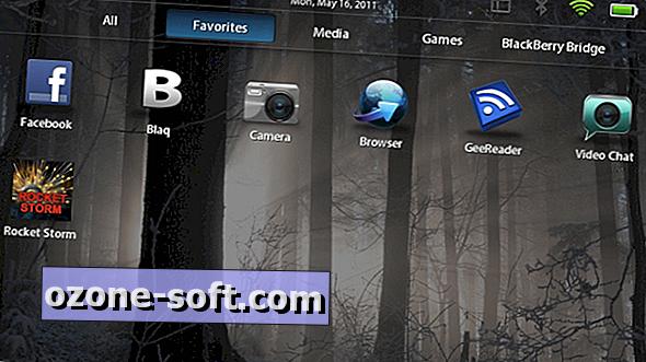 Kuidas korraldada rakendusi BlackBerry PlayBookis