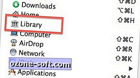 Πώς να φανεί ο φάκελος της βιβλιοθήκης του Mac σας
