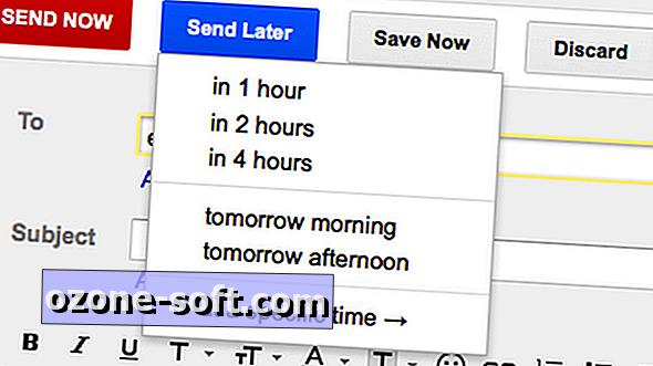 Planeerige e-kirjad, mis saadetakse hiljem parema postkasti abil