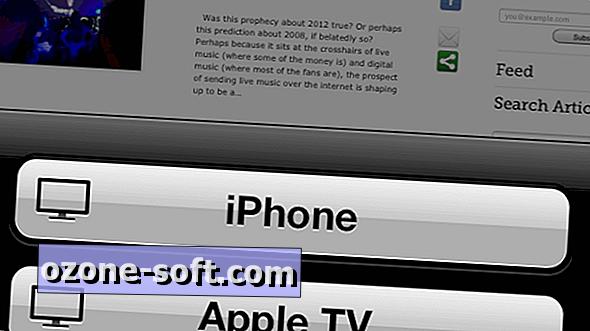 So streamen Sie eine Music-Player-App an AirPlay-fähige Lautsprecher