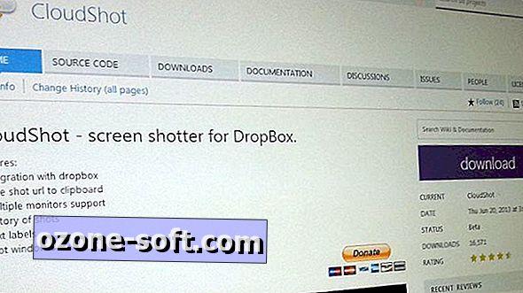 Use o CloudShot para enviar capturas de tela para o Dropbox