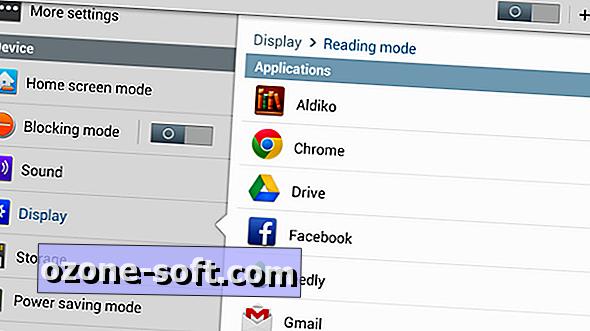 Configurar o modo de leitura no Galaxy Note 8
