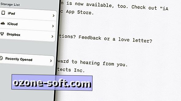 कैसे आईए लेखक के साथ iPad पर बेहतर लिखने के लिए