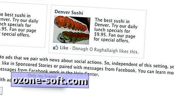 Περιορίστε τη συμμετοχή σας στις κοινωνικές διαφημίσεις Facebook