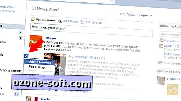 Tjek Facebooks skjulte Favoritter-funktion