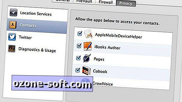 So steuern Sie, welche Apps unter OS X auf Ihre Kontakte zugreifen können