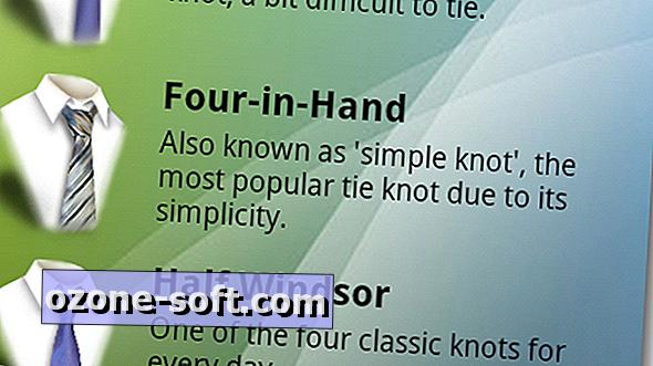 Lugege, kuidas siduda lips ja sall koos Androidiga