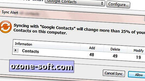 Slå samman dina Gmail- och iPhone-kontakter