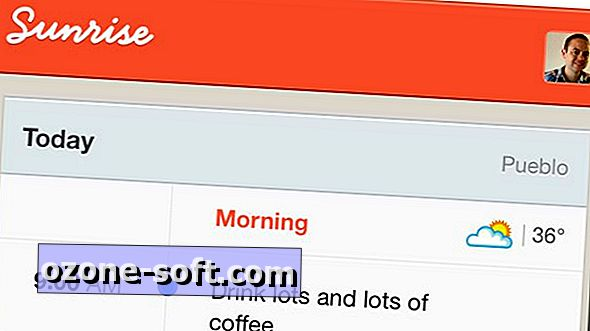 Sunrise zal uw dagelijkse agenda elke ochtend naar u e-mailen