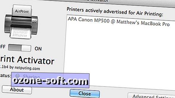 Печат от iDevice с AirPrint Activator (това е безплатно!)