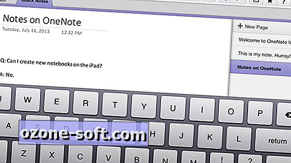 Je li OneNote za iPad sada upotrebljiv?