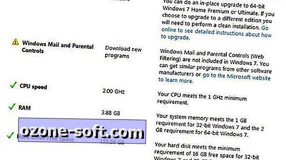Планирайте начина, по-напред с Windows 7 Upgrade Advisor