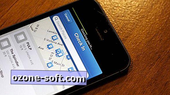 आईफोन ऐप में फोरस्क्वेयर चेक-इन प्रक्रिया को गति देता है