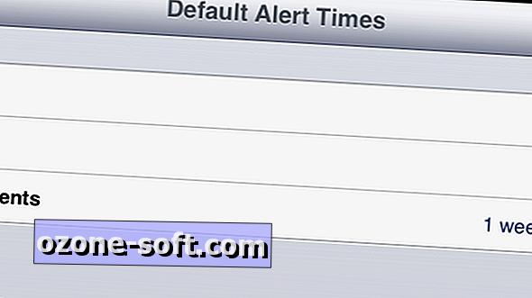 Slik angir du standard påminnelser for iOS-kalenderen