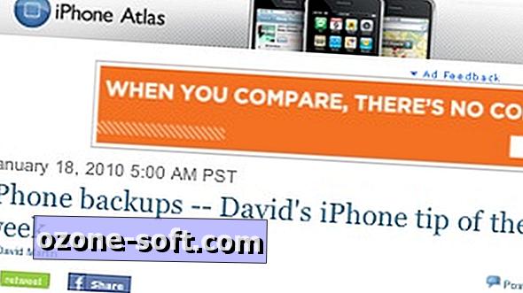 Προβολή του πλήρους ιστότοπου iPhone Atlas στο τηλέφωνό σας