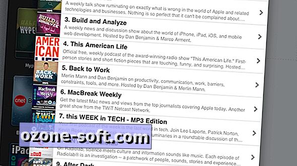 Kako začeti z iPad podcast aplikacijo Instacast HD