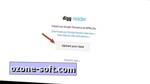 كيفية استيراد بيانات Google Reader إلى Digg Reader