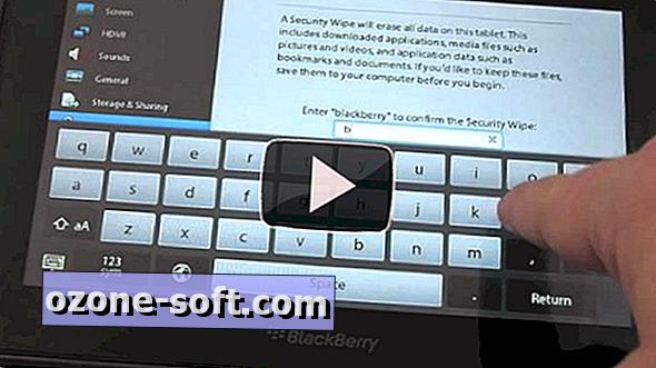 Jak przywrócić ustawienia fabryczne aplikacji BlackBerry PlayBook