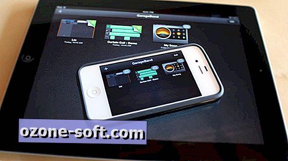 Az iCloud használata a GarageBand alkalmazással az iOS-hoz