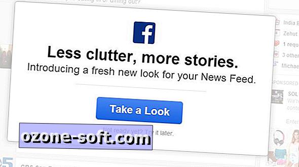 Kezdje meg a Facebook frissített hírcsatornáját