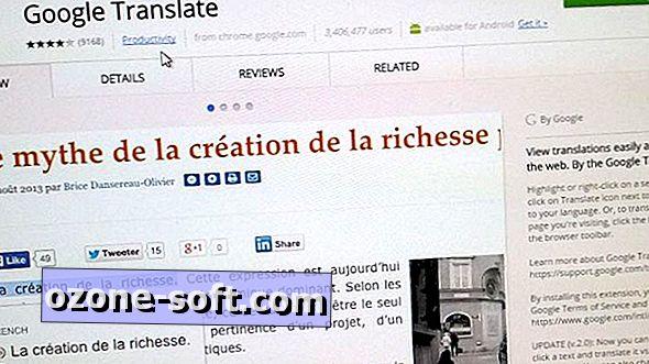 Få hurtige oversættelser på websteder med Googles Oversættelsesudvidelse