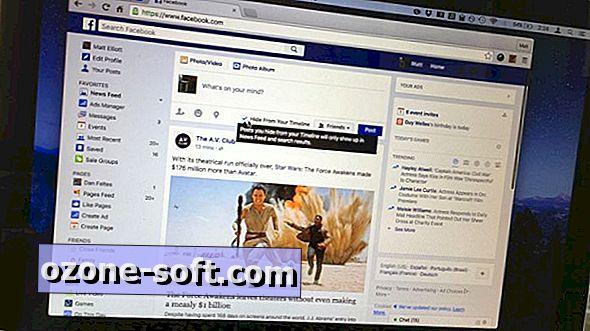 Facebook giver dig nu mulighed for at skrive til nyhedsfeeden og ikke dit tidslinje