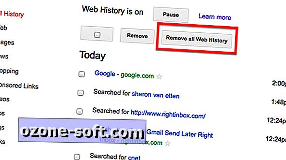 """Kaip pašalinti """"Google"""" žiniatinklio istoriją"""