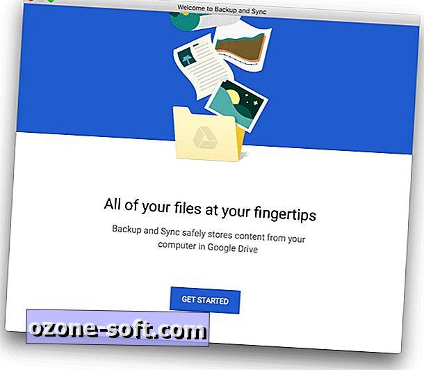 Starten Sie mit der Backup- und Sync-App von Google