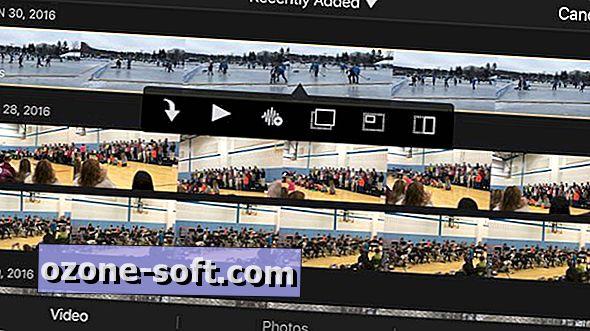 So erstellen Sie ein Projekt in iMovie für iOS