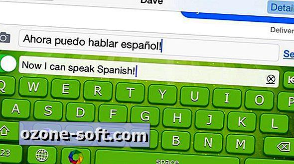 Fordítsa a szöveget egy másik nyelvre, ahogy írja