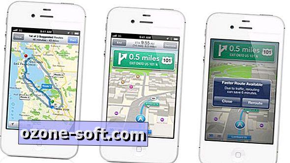 Как да използвате навигация от завой-по-завой в iOS 6