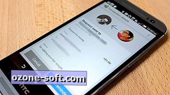 Verzend, vraag geld aan met behulp van de Google Wallet-app