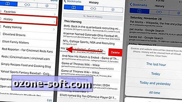 Kā dzēst kādu vai visu jūsu Safari pārlūkošanas vēsturi iOS