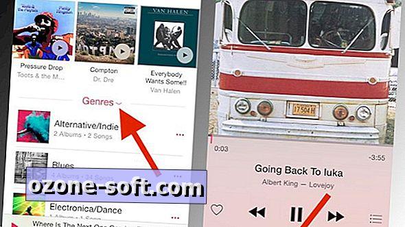 Slik blander du alle sanger eller en sjanger i Apple Music