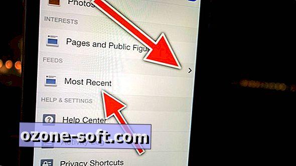 مكان العثور على أحدث المقالات في Facebook لـ iOS