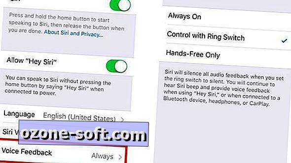 Jak wyciszyć Siri za pomocą przełącznika blokady